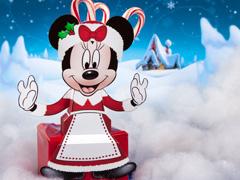Disney - Minnie sentada navidad.