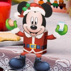 Papercraft Mickey Santa Claus. Disney. Manualidades a Raudales.