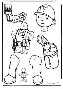 Marioneta de Bob el Constructor.