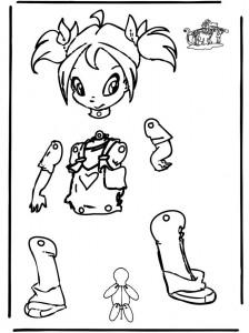 Marioneta de Winx. Manualidades a Raudales.