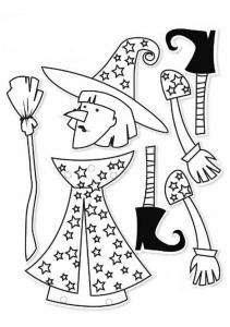 Marioneta de una bruja.