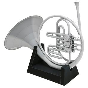 Papercraft de una Trompa. Manualidades a Raudales.