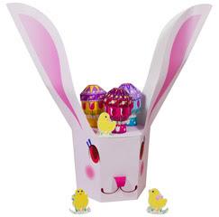 Papercraft de una Cesta de huevos para Pascua / Easter. Manualidades a Raudales.