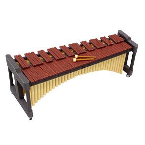 Papercraft de una Marimba. Manualidades a Raudales.
