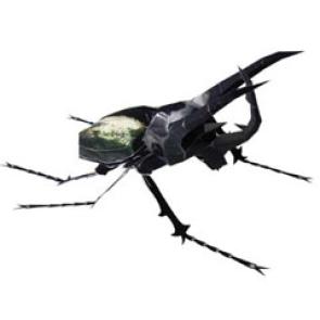 Papercraft imprimible y armable de un Escarabajo Rinoceronte. Manualidades a Raudales.