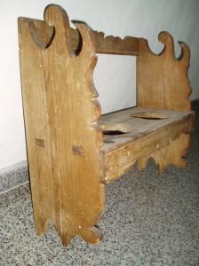 Restauración muebla anforas y tinajas.