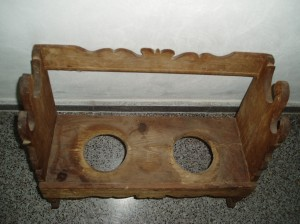 Restauración mueble anforas y tinajas.