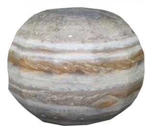 Papercraft del Planeta Jupiter. Manualidades a Raudales.