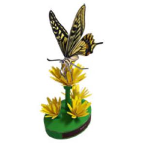 Papercraft de la Mariposa Papilio. Manualidades a Raudales.