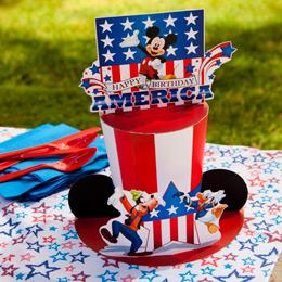 Sombrero de Mickey 4 de Julio.