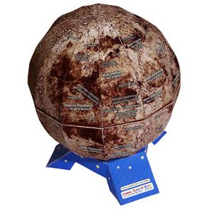 Papercraft de la Esfera lunar. Manualidades a Raudales.
