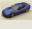 Papercraft del Chevrolet Corvette de 1997. Manualidades a Raudales.