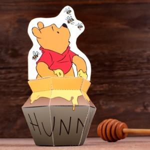 Papercraft imprimible y armable de Winnie the Pooh de Disney. Manualidades a Raudales.