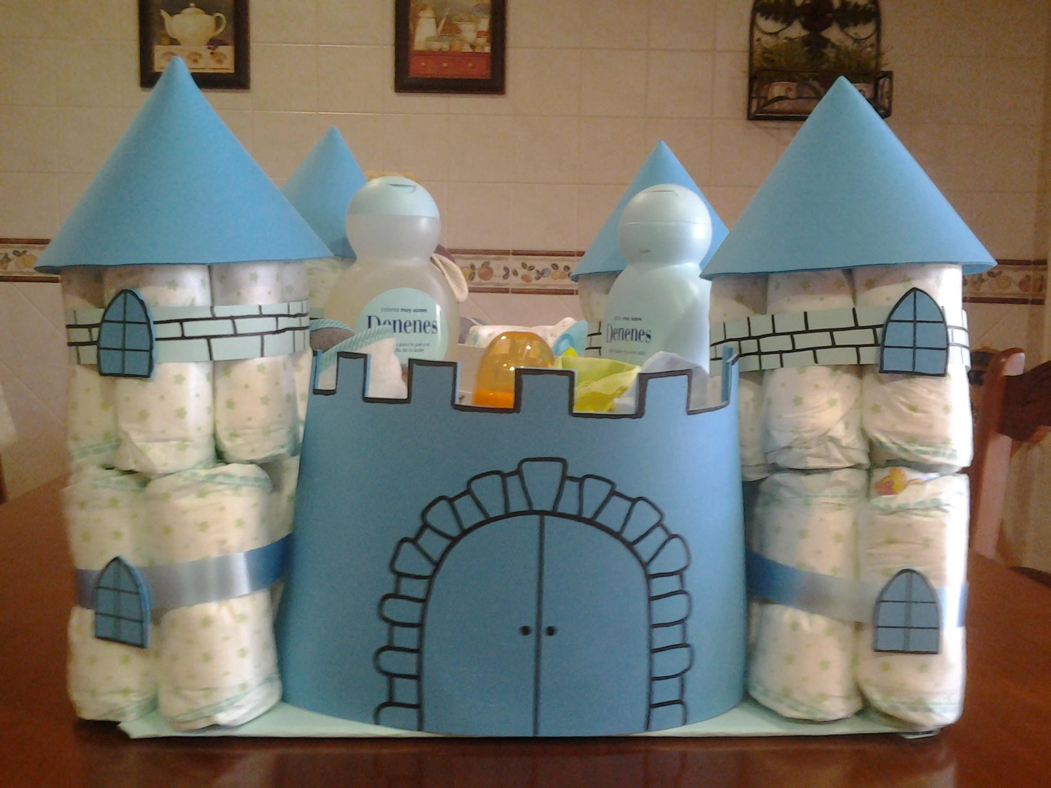 Castillo medieval realizado con pa ales manualidades a - Manualidades castillo medieval ...