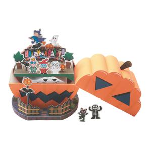Papercraft de una Casa de Halloween. Manualidades a Raudales.