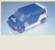 Papercraft del Chevrolet - Astro 1987. Manualidades a Raudales.