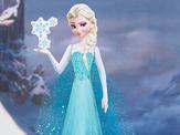 Papercraft de Elsa de Frozen. Manualidades a Raudales.
