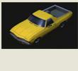 Papercraft imprimible y armable del Chevrolet El Camino. Manualidades a Raudales.
