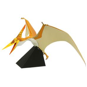 Papercraft del Dinosaurio - Pteranodon. Manualidades a Raudales.