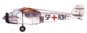Papercraft del Avión Lublin R-XVIb. Manualidades a Raudales.