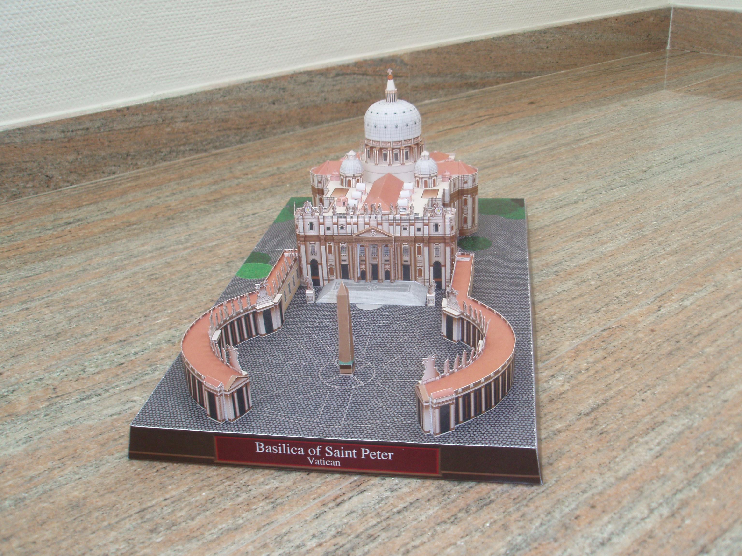 Basílica de San Pedro - Manualidades a Raudales.