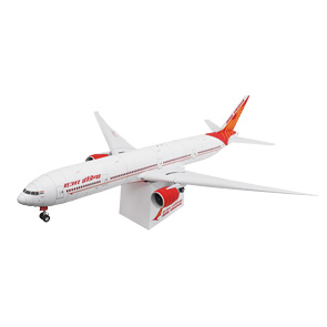 Papercraft del Boeing Air India 777-300. Manualidades a Raudales.
