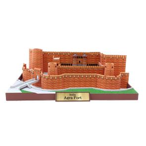 Papercraft building del Fuerte de Agra en la India. Manualidades a Raudales.