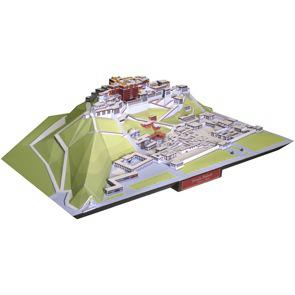 Papercraft building del Palacio de Potala en China. Manualidades a Raudales.
