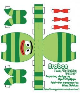 Yo Gabba Gabba - Brobee 3.