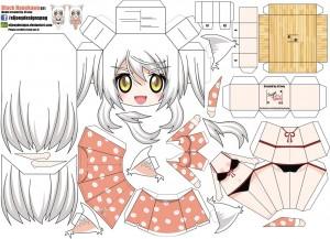 Anime - Black Hanekawa. Manualidades a Raudales.