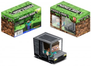 Camion Minecraft. Manualidades a Raudales.