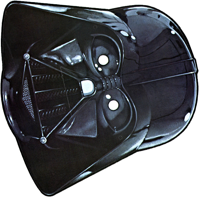 Mascara de Darth Vader 3. - Manualidades a Raudales