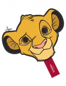 Mascara de Simba de Disney. Manualidades a Raudales.