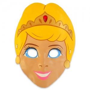 Máscara de una princesa. Manualidades a Raudales.