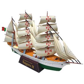 Colección papercrfat de barcos. Manualidades a Raudales.