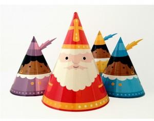 Papercraft imprimible y armable de adornos de Navidad. Manualidades a Raudales.