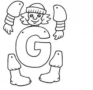 Marioneta letra G.