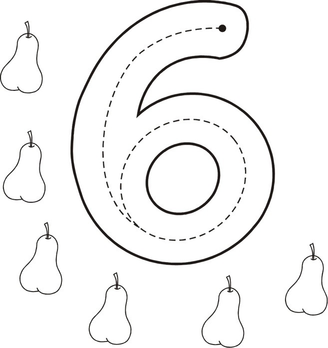 Grafomotricidad número 6 - 07 - Manualidades a Raudales