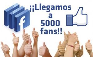 Manualidades a Raudales a alcanzado los 5000 seguidores en Facebook.