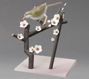 Papercraft de una Curruca japonesa. Manualidades a Raudales.
