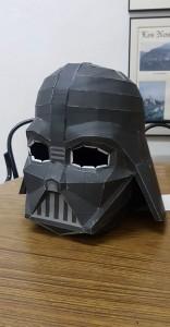 Papercraft imprimible y armable de Darth Vader. Manualidades a Raudales.