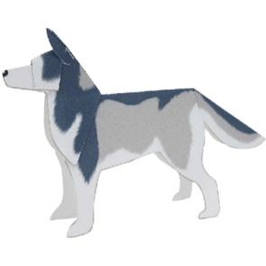 Papercraft del perro husky. Manualidades a Raudales.