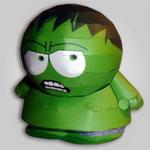 Papercraft de Hulk. Manualidades a Raudales.