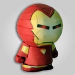 Papercraft de Ironman. Manualidades a Raudales.