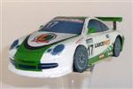 Papercraft del coche Porsche 996. Manualidades a Raudales.