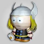 Papercraft de Thor. Manualidades a Raudales.