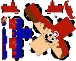 Cubeecraft de Super Mario.