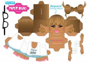 Cubeecraft Divas Beyonce. Manualidades a Raudales.