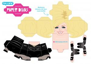 Cubeecraft de Madonna. Manualidades a Raudales.