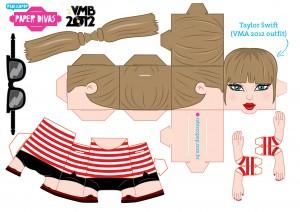Cubeecraft de Taylor Swift. Manualidades a Raudales.